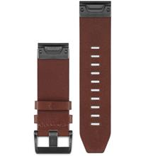 Garmin 010-12496-05 Quick Fit 22 Fenix 5 Brown Leather Watch Band